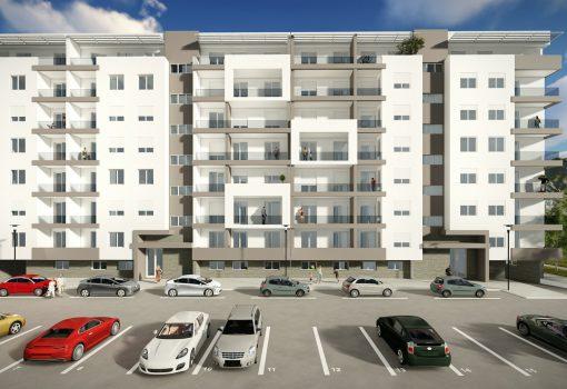Dvosoban stan na povučenoj etaži od 83.19m<sup>2</sup> Lamela 2 – S5