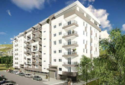 Dvosoban stan na povučenoj etaži od 70.83m<sup>2</sup> Lamela 2 – S6